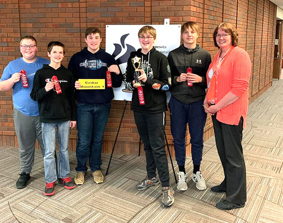 Cedar Mountain Knowledge Bowl Team