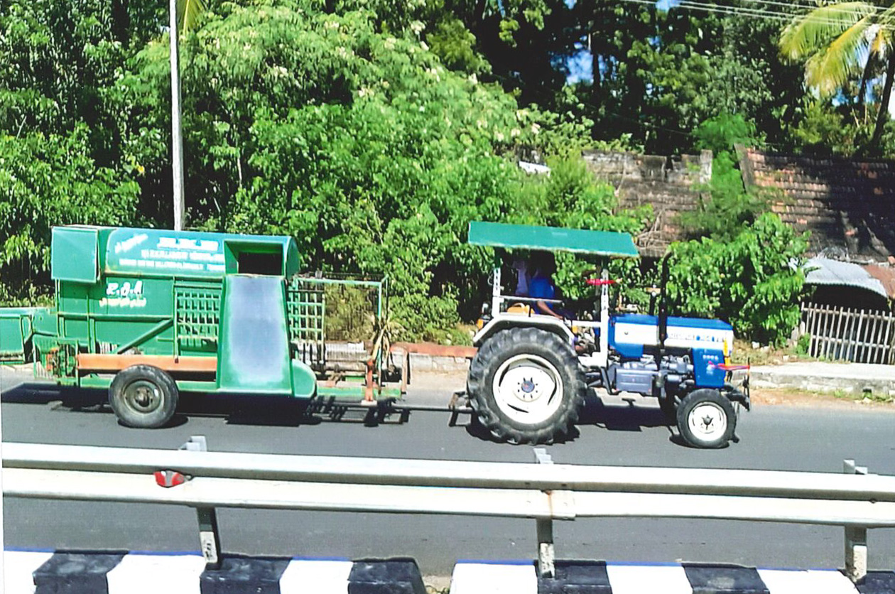An example of farm equipment in India.