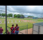 The weekend events included a Fairfax Cardinals baseball game.