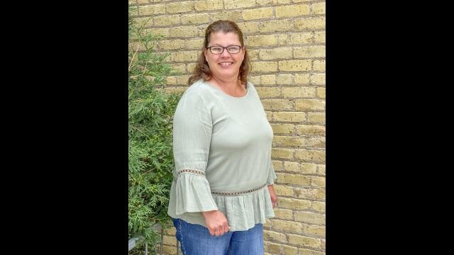 Lori Kopischke, of Morgan, is the new typesetter at the Standard-Gazette & Messenger office.