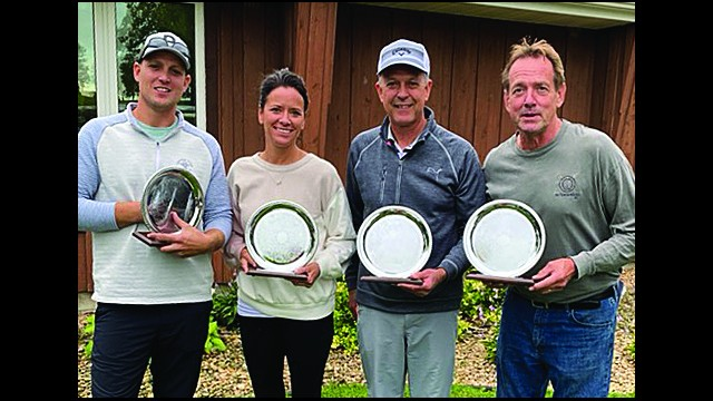 The 2020 Morgan Spectacular was held on September 12. The winners are pictured above (from left) Brook Christensen, Shawna Nelsen, Doug Kopischke, and Virgil Flock.  (Submitted photo)