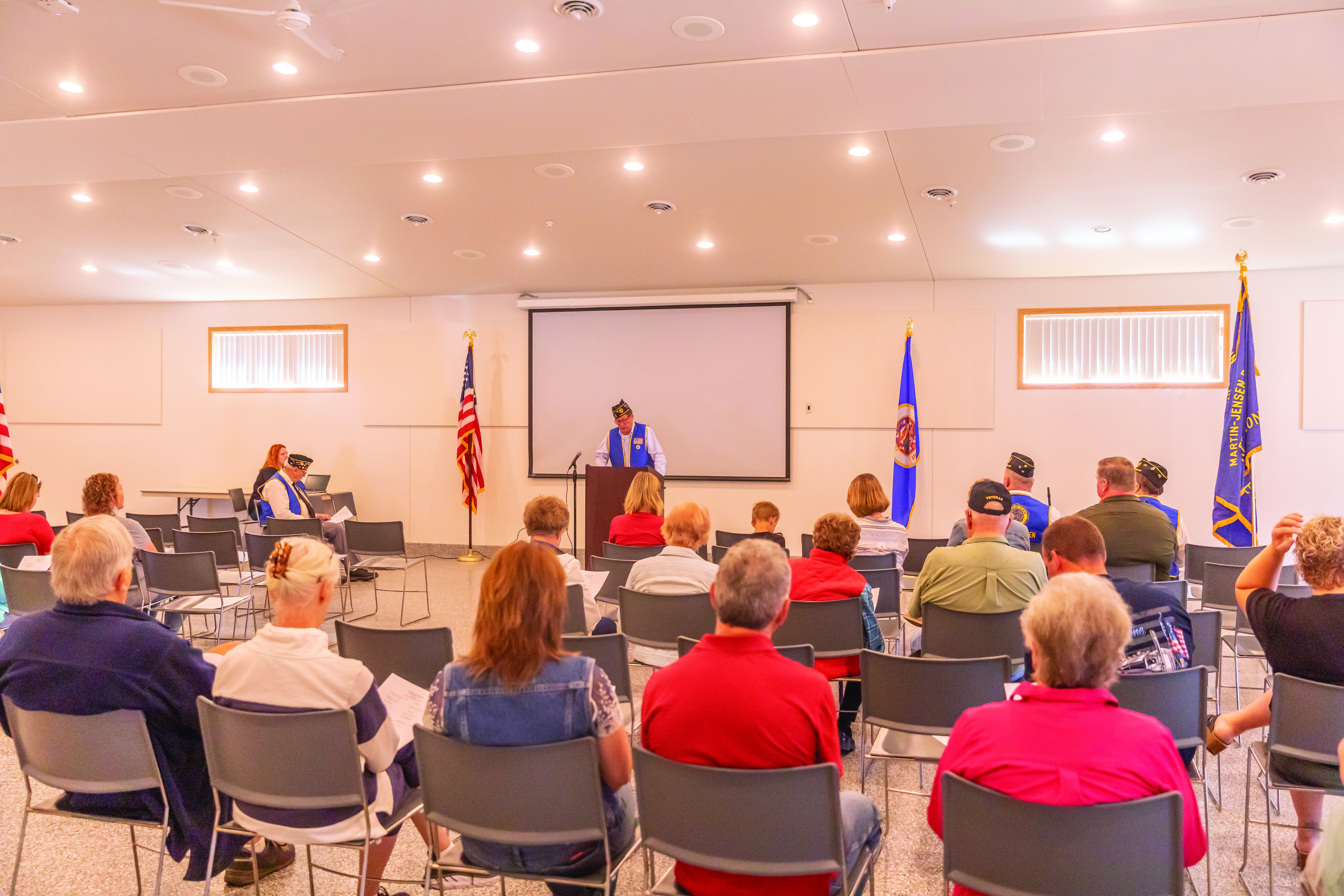In Franklin, a program was held at the Community Center.