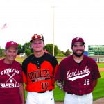 Over the past 65 years, the Huiras name has been part of the local baseball scene. Pictured below are Marvin (left), Jackson Huiras (center) and Cody Huiras (right). (Photos by Paul Zaid)